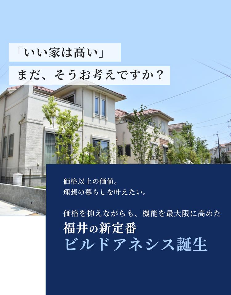 福井の新定番 ビルドアネシス誕生